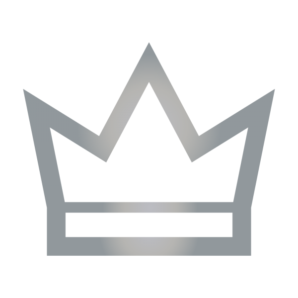 crown label badge